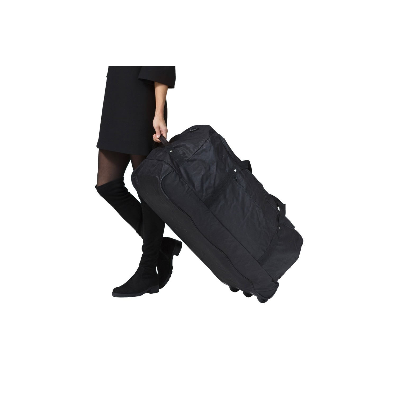 TravelZ, Utazótáska, Hajlítható, 3 kerekű, 81 cm, Fekete