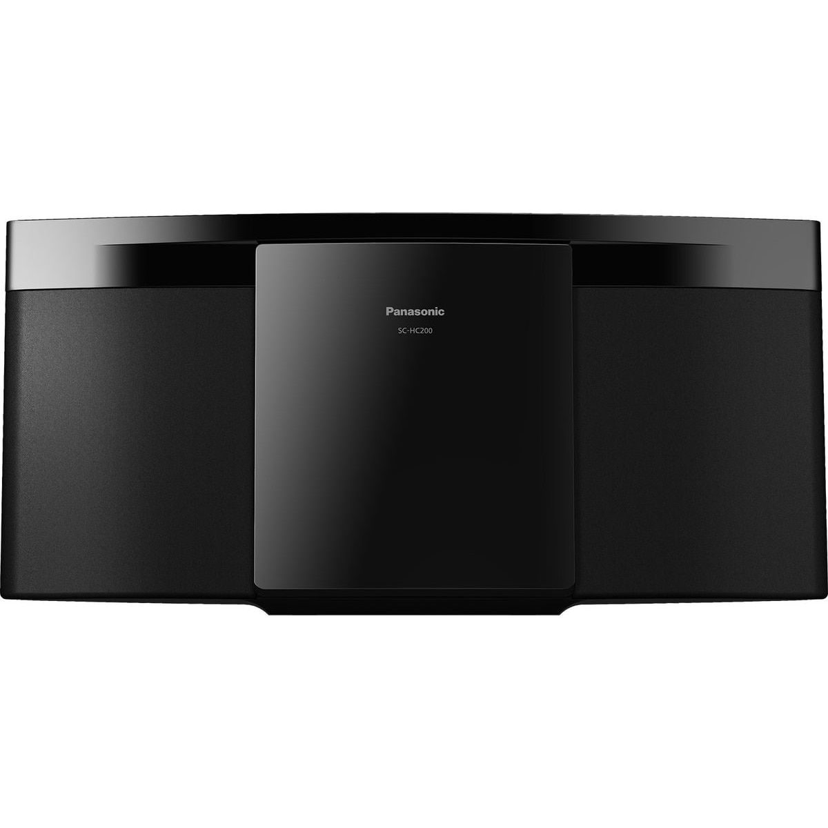 Fotografie Microsistem audio Panasonic SC-HC200EG-K, 20W, Bluetooth, USB, negru