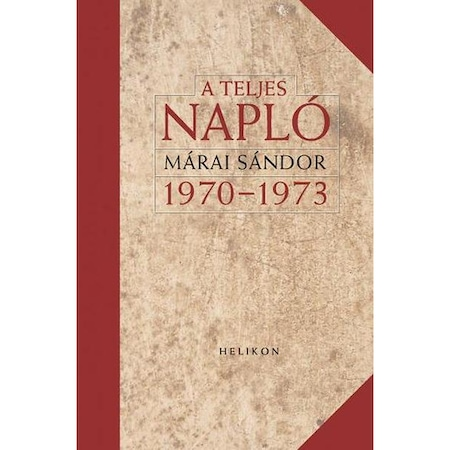 A teljes napló 1970-1973