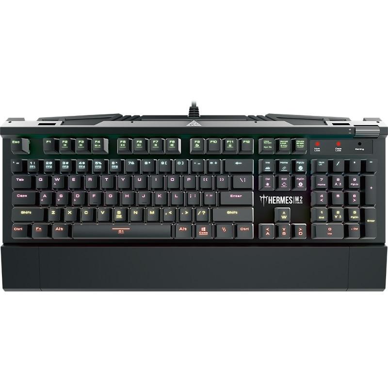 Fotografie Tastatura gaming mecanica Gamdias Hermes M2 Optical, Brown