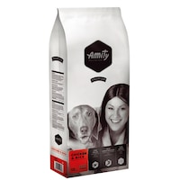 Суха храна за кучета Amity Premium, Пилешко и ориз, 15 кг