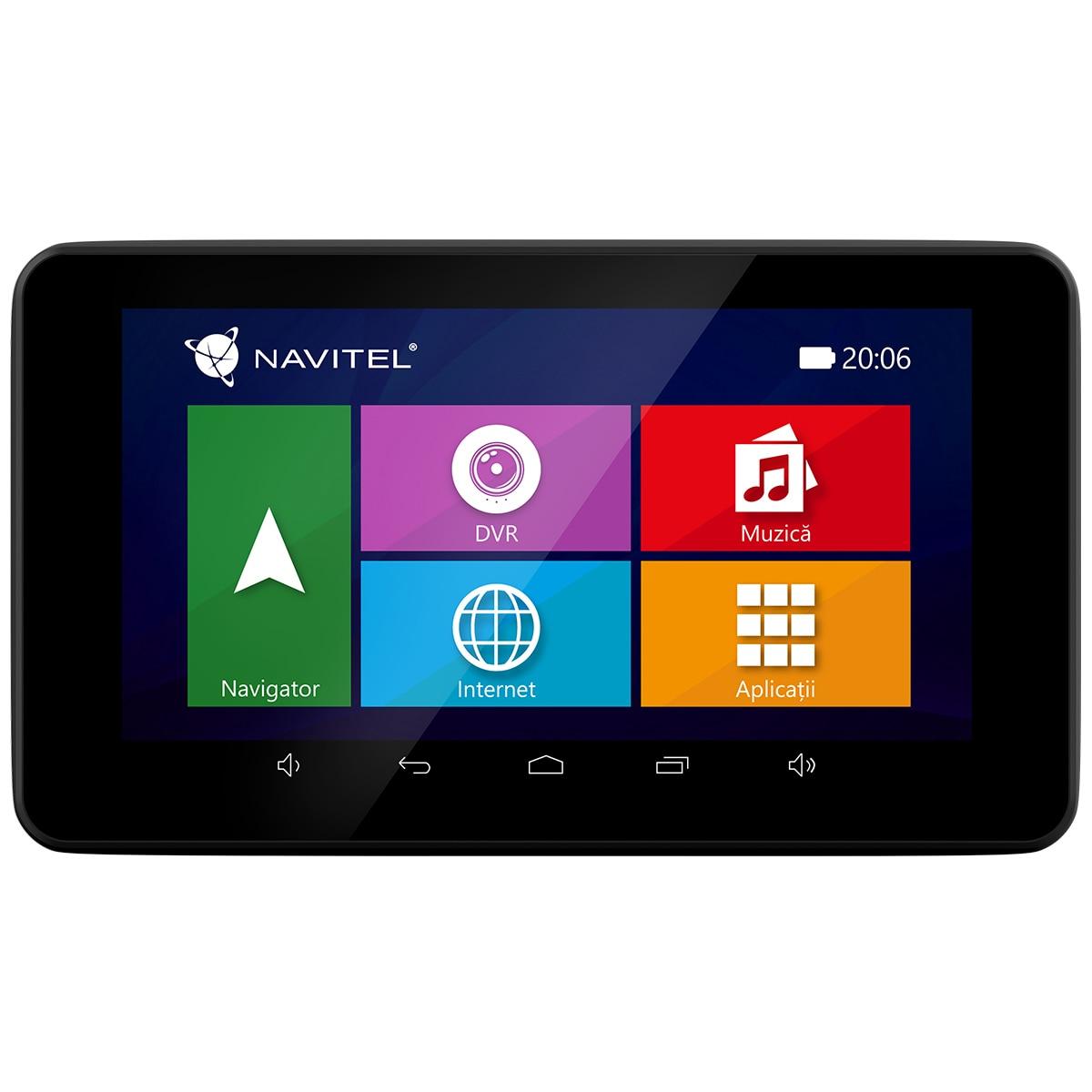 """Fotografie Camera Auto DVR si GPS Navitel RE900 Combo 2 in 1, camera Full HD, ecran 5"""", Android, 3G, Wi-Fi, bluetooth 4.0, transmitttor FM, harti Full EU cu actualizare lifetime"""