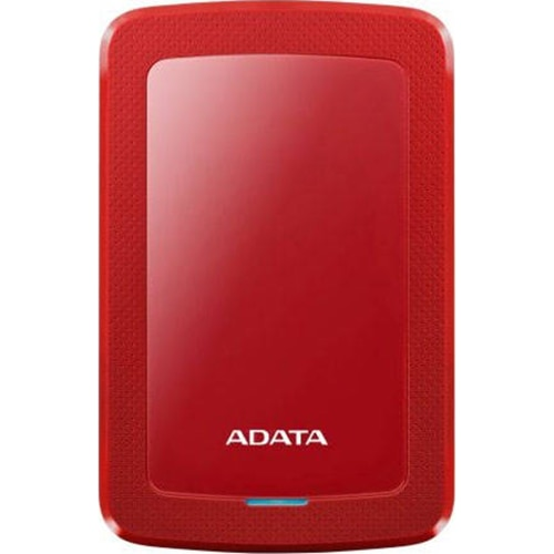 "Fotografie HDD extern ADATA HV300 Slim 1TB, Shock Sensor, 2.5"", USB 3.1, Rosu"