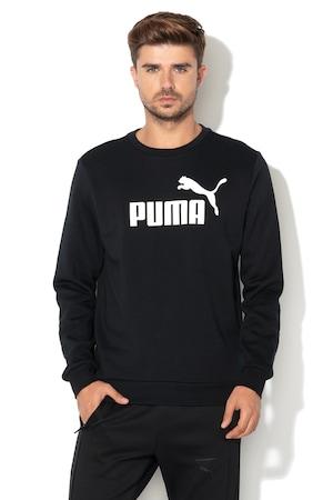 Puma, Суитшърт със стандартна кройка и лого, Черен