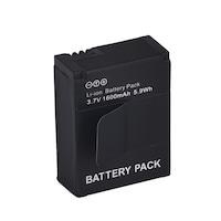 1600 mAh Li-ion tuning akku akkumulátor GoPro Hero 3 / 3+ akció kamerákhoz AHDBT-201 / 301 GP-37
