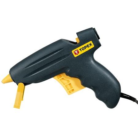 Pistol lipit cu batoane silicon PE/PVC 11mm 200 W 12gr/min Topex