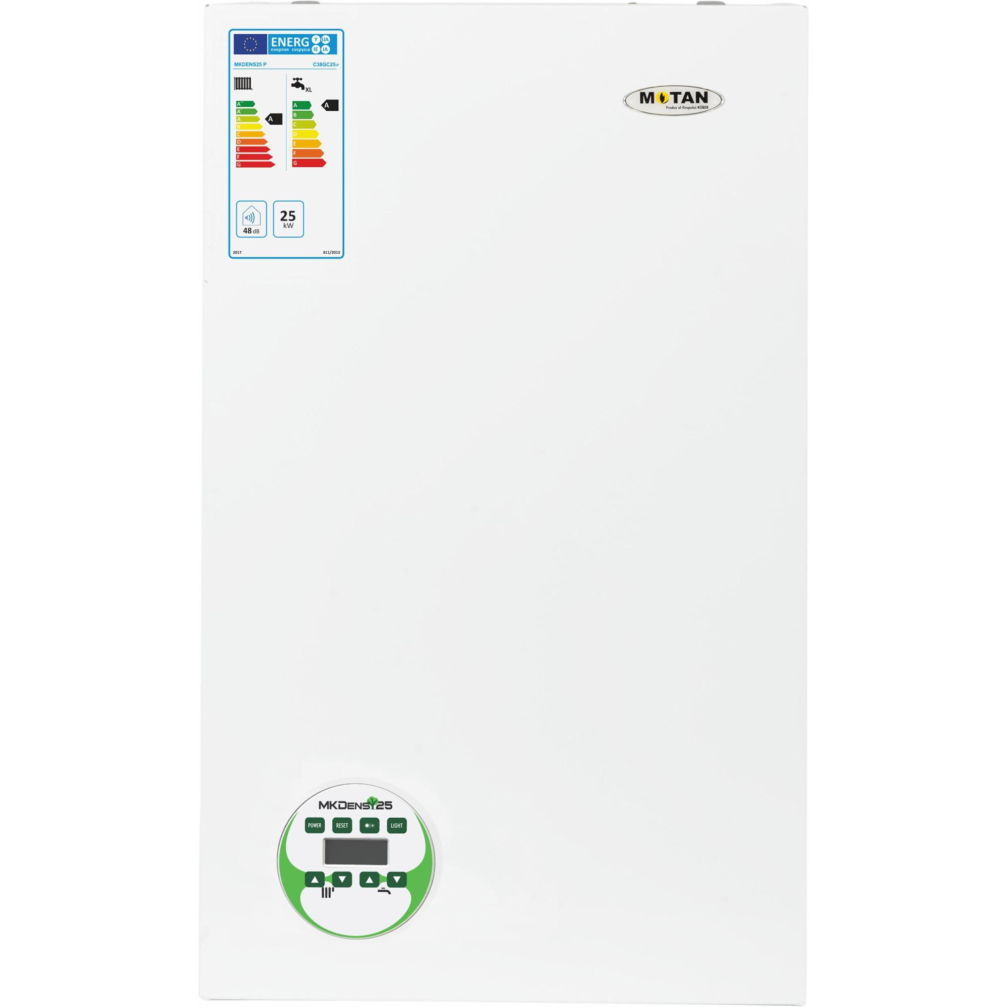 Fotografie Centrala termica in condensare Motan MKDens 25 P, tiraj fortat, 25 kW, fara kit inclus