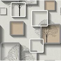 Tapéta DEGRETS 1372 Papír, Nelmi 3D bézs, Méret: 0.53m x 10.05m = 5.3 m2