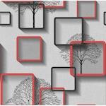 Tapéta DEGRETS 1373 Papír, Nelmi 3D szürke, Méret: 0.53m x 10.05m = 5.3 m2
