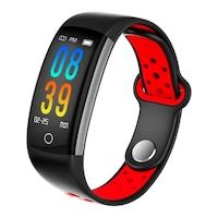 Fitness karkötő, bluetooth 4.0, TFT, 9 funkció, Android iOS, IP68, SoVogue, piros