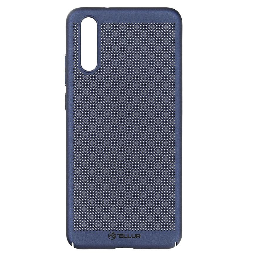 Fotografie Husa de protectie Tellur Heat Dissipation pentru Huawei P20, Albastru