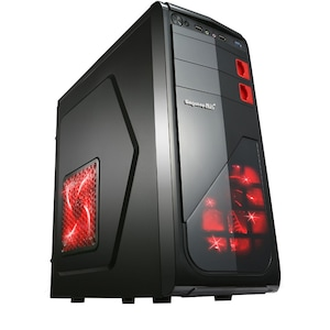 GeFors Asztali PC QuadCore ® Ryzen3-1200 3.40Ghz TURBO, RAM 8GB DDR4, HDD 500GB, VIDEO 2GB DDR5 Geforce GT710, DVD RW + Egér billentyűzet