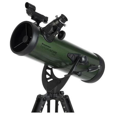 Telescop Celestron ExploreS 114AZ, Negru
