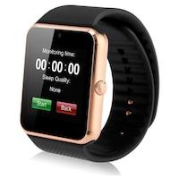 Смарт часовник Smart Wear GT08, слот за сим карта и мемори карта, камера, bluetooth, Златен