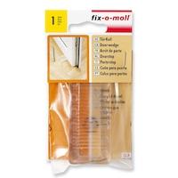 ABRABORO® FIX-O-MOLL ajtóék, műanyag, átlátszó
