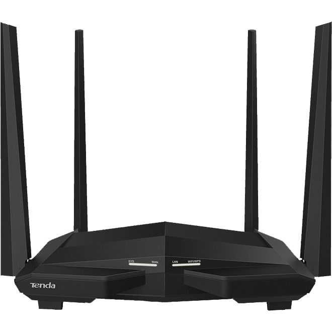 Fotografie Router wireless Tenda AC10, Dual-Band AC1200, 4 antene