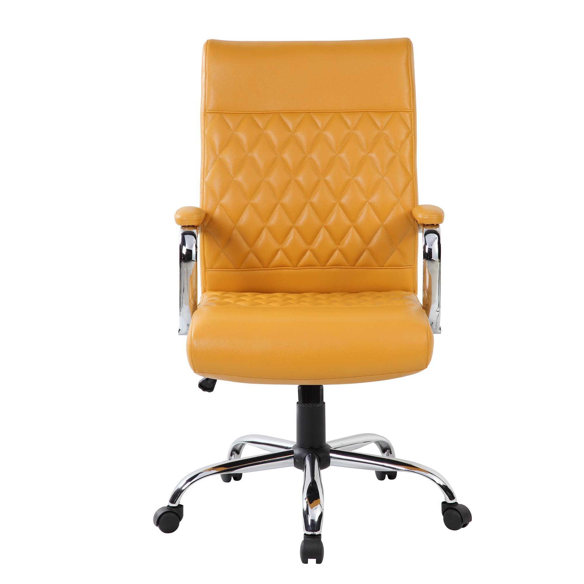Fotografie Scaun de birou ergonomic Kring Code, Galben
