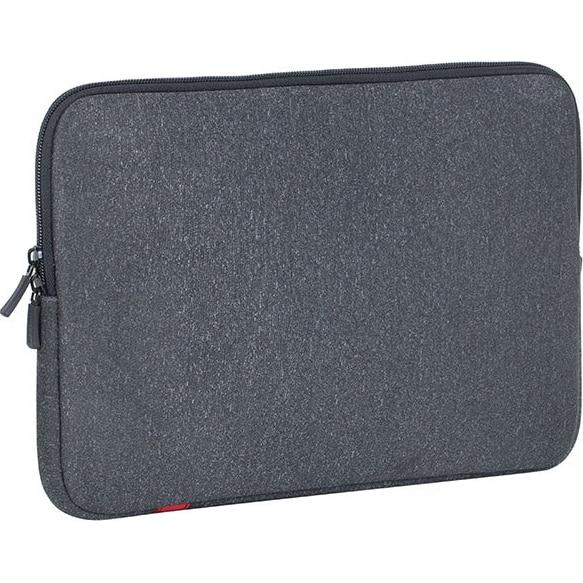 "Fotografie Husa laptop Rivacase Sleeve, Antisoc, 15.4"", Dark Grey"