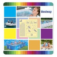 Bestway Öntapadós víz alatti medence javítófolt, 10 darab / szett (62091)