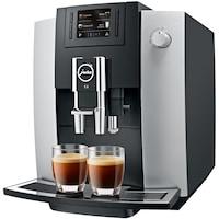 Jura E6 Automata kávéfőző, 1450W, 15bar, Fekete/Ezüst