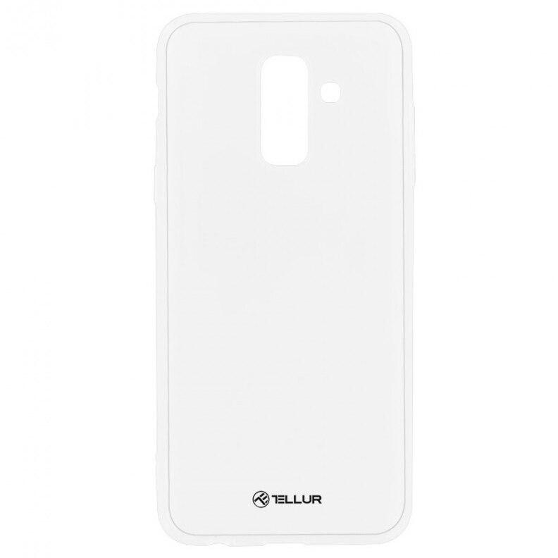 Fotografie Husa de protectie Tellur Silicon pentru Samsung Galaxy A6 Plus, Transparent