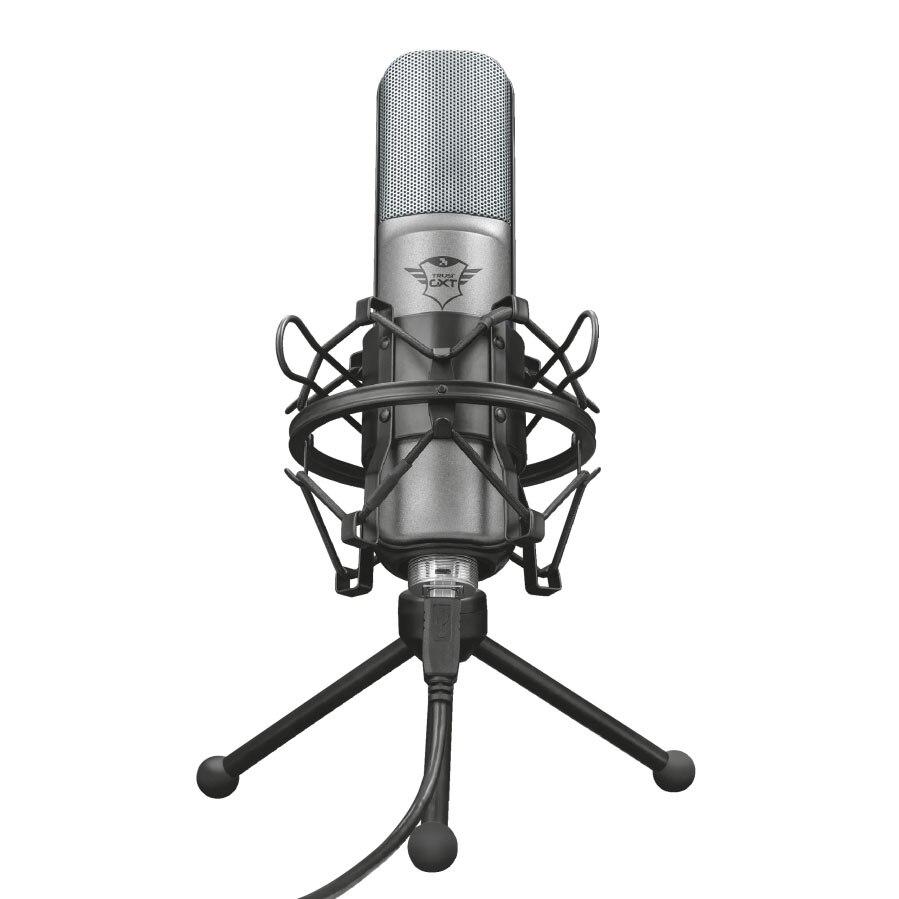 Fotografie Microfon Trust GXT 242 Lance Streaming, Negru