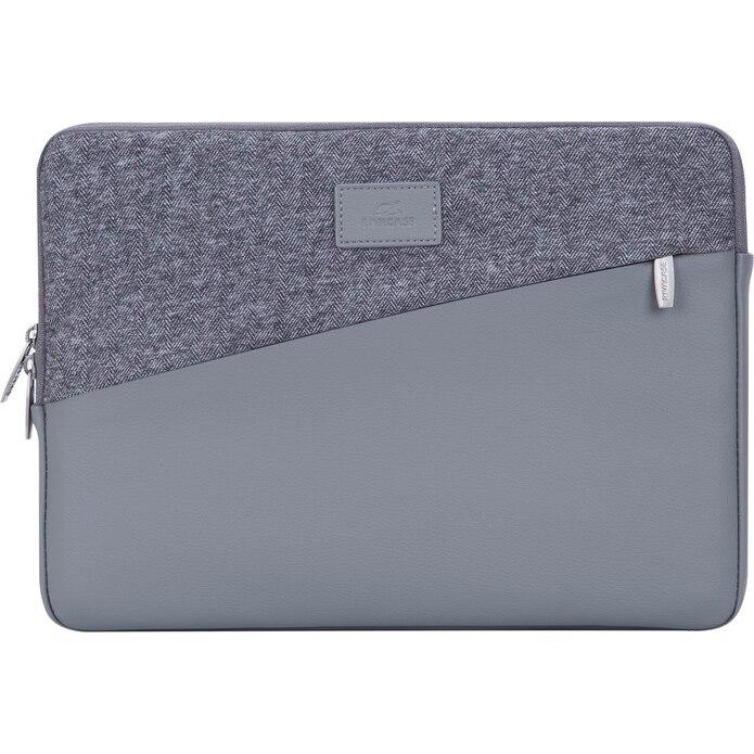 "Fotografie Husa laptop Rivacase Sleeve 7903 grey, pentru MacBook Pro / Ultrabook 13.3"""