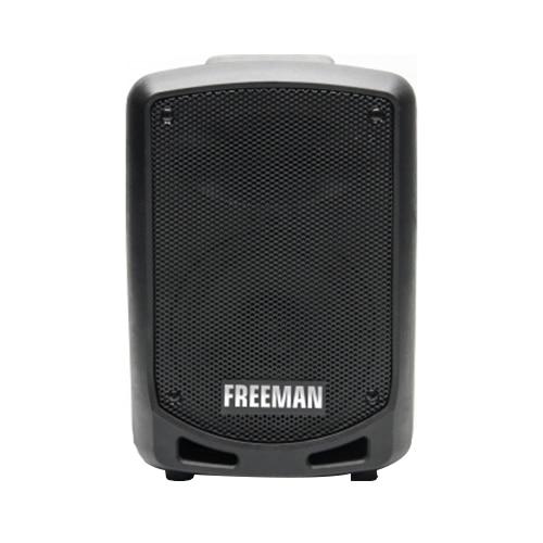 Fotografie Boxa portabila Freeman Karaoke 1001 Mini, Bluetooth, microfon, radio FM, Negru