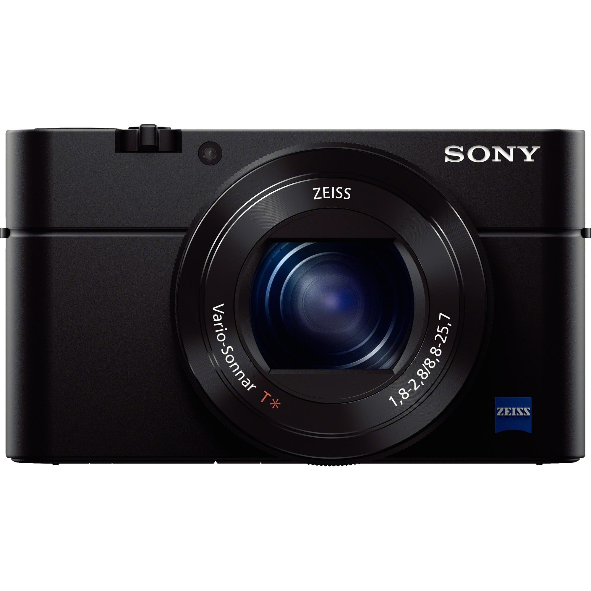 Fotografie Aparat foto digital compact Sony Cyber-Shot DSC-RX100 III, 20.1MP, Negru