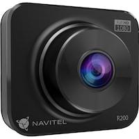 """Navitel R200NV autós menetrögzítő kamera, éjjellátó mód, FHD, 2 """"-es képernyő, 120°- fokos szög, G-Szenzor, auto-recording"""