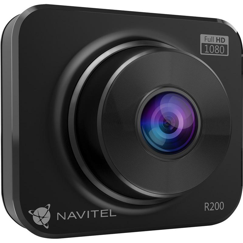 """Fotografie Camera Auto DVR Navitel R200NV cu night vision, FHD, ecran 2"""", unghi de 120 grade, G-Sensor, auto-inregistrare evenimente"""