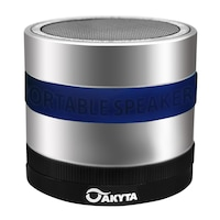 Boxa bluetooth Akyta AB131, 3W, super bass, albastru