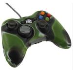 Xbox 360 - Kontroller szilikon borítás - terep - fekete/zöld
