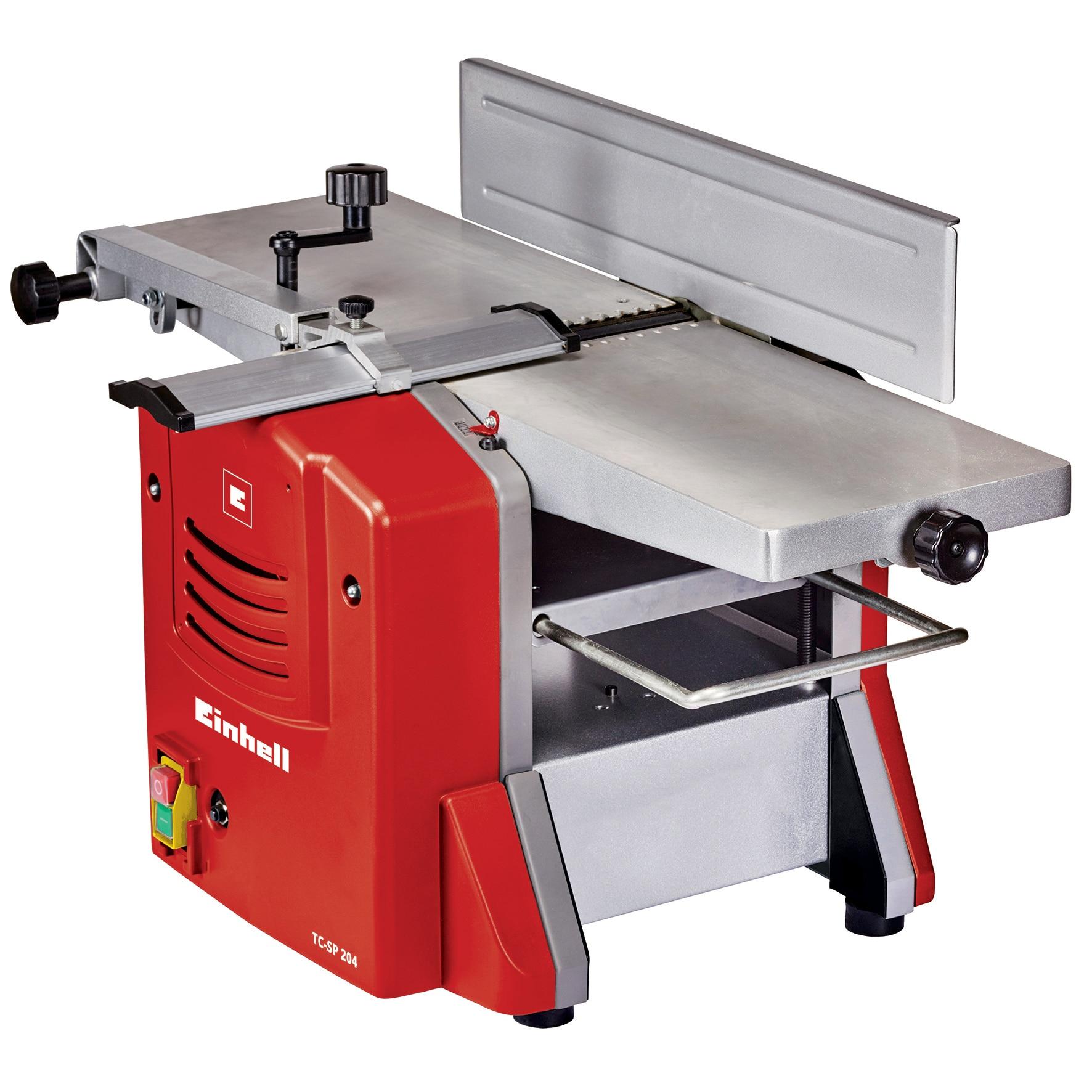 Fotografie Masina de rindeluit Einhell TC-SP 204, 1500 W, 3 mm max indepartare material, latime max rindeluire 204 mm, deschiere max. grosime 120 mm