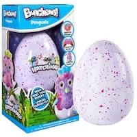 Bunchems Hachimals Penguella kreatív szett, tojásban