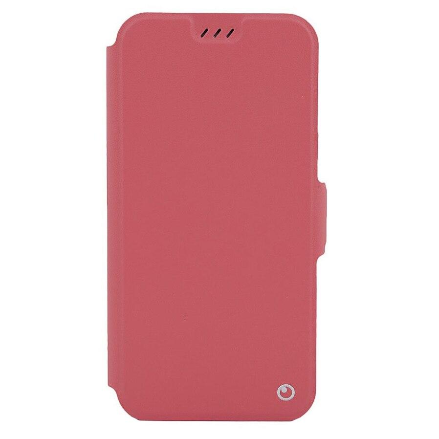 Fotografie Husa de protectie Lemontti Book Elegant pentru Huawei P Smart, Red
