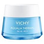 Crema rehidratanta Vichy, AQUALIA THERMAL pentru ten uscat si foarte uscat, 50 ml