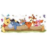 Micimackó és barátai dekorációs falmatrica | 100,3 cm x 40,6 cm