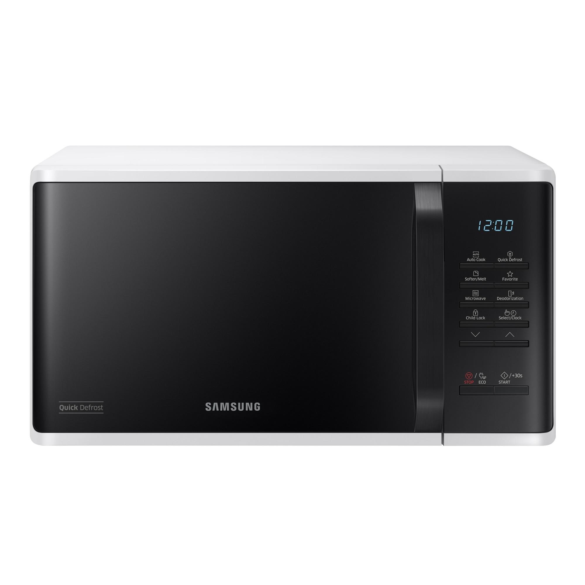 Fotografie Cuptor cu microunde Samsung MS23K3513AW/OL, 23 l, 800 W, Digital, Touch control, Alb