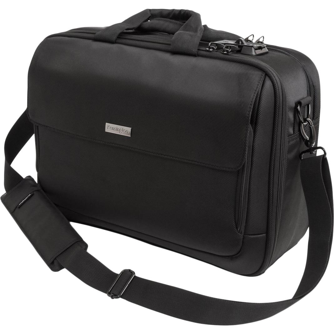 """Fotografie Geanta laptop Kensington SecureTrek, securizata pentru laptop de, 15"""", negru"""
