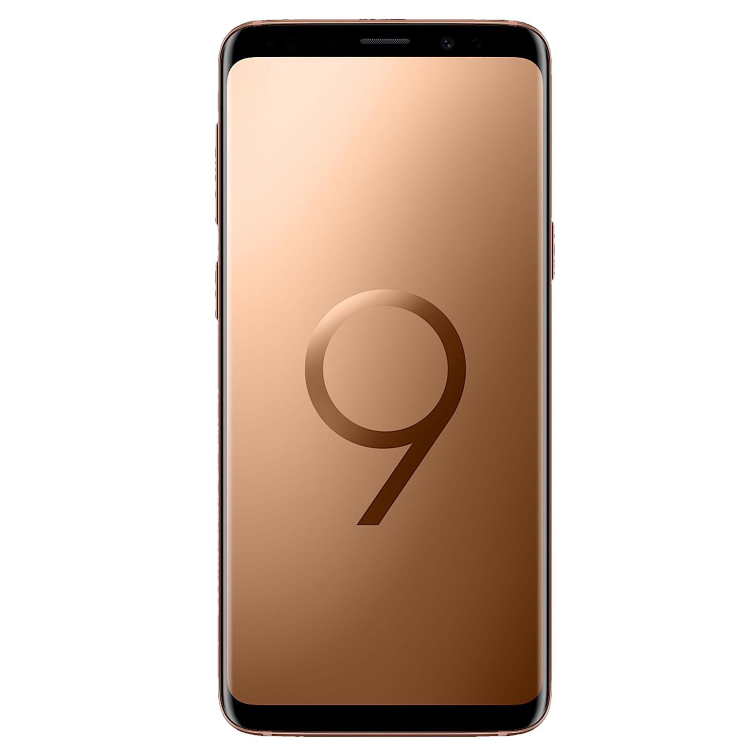Fotografie Telefon mobil Samsung Galaxy S9, Dual SIM, 64GB, 4G, Gold