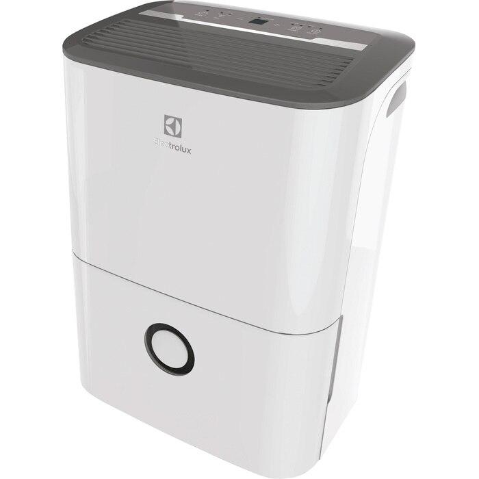 Fotografie Dezumidificator Electrolux, 20 l/24h, 440 W, rezervor 3 L, filtru de praf, Agent refrigerare R290, Recomandat pentru incaperi pana la 52 m2, Alb