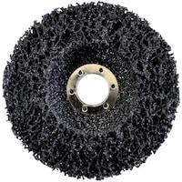 ABRABORO® négertárcsa, D 115x22 mm, black magic