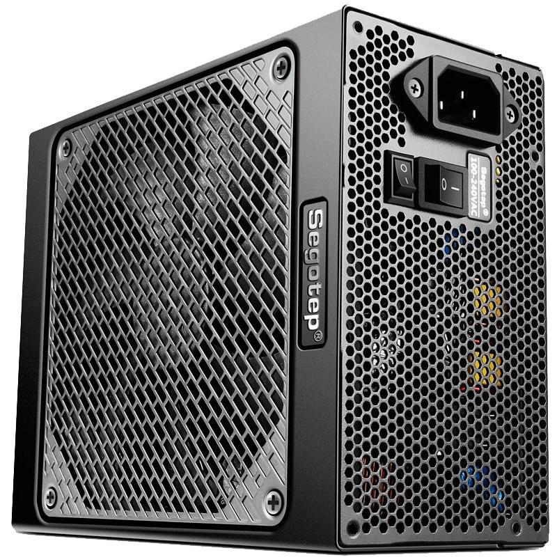 Fotografie Sursa Segotep KL-1080W 1080W Full Modular PSU, 80 PLUS Platinum, eficienta maxima 94%