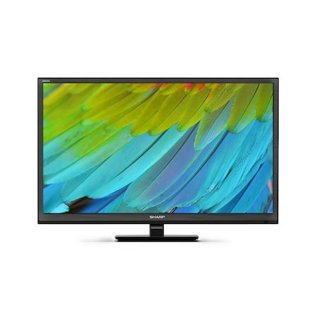 Телевизор Sharp LC-24CHF4012E, 24'' (60 см), LED, HD, Черен
