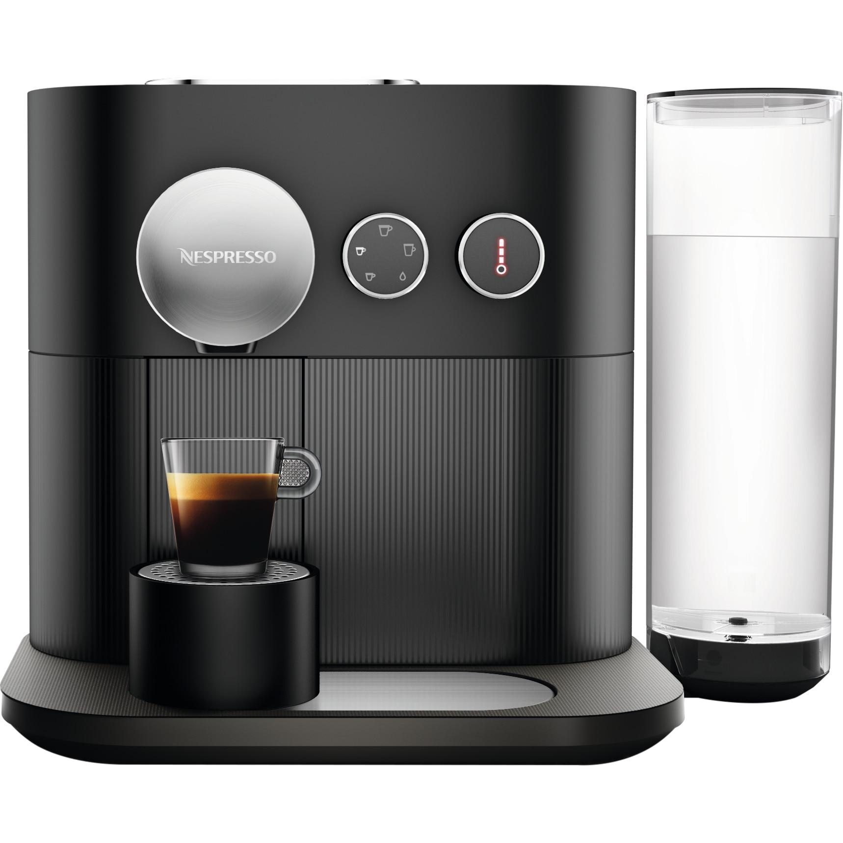 Fotografie Espressor Nespresso Expert Off Black C80-EU3-BK-NE, 19 bari, 1260 W, 1.1 l, Negru + 14 capsule cadou