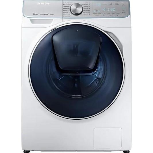 Fotografie Masina de spalat rufe Samsung WW10M86INOA/LE, QuickDrive, AddWash, Eco Bubble, Auto Dosing, Motor Digital Inverter, 10kg, 1600 RPM, Clasa A+++, Alb