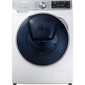 Masina de spalat rufe cu uscator Samsung WD90N740NOA/LE, 9 Kg spalare, 5 Kg uscare, 1400 rpm, Clasa A, QuickDrive, EcoBubble, AddWash, Alb