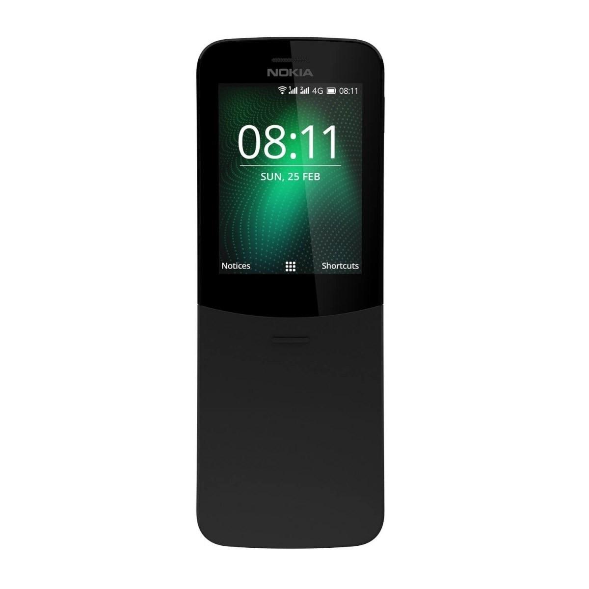 Fotografie Telefon mobil Nokia 8110, Dual SIM, 4G, Black