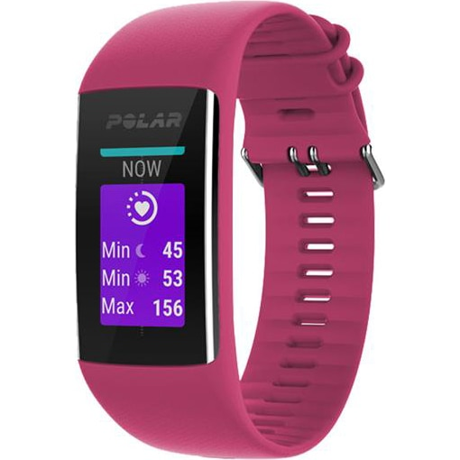 Fotografie Bratara fitness Polar A370, HR, Small, Ruby
